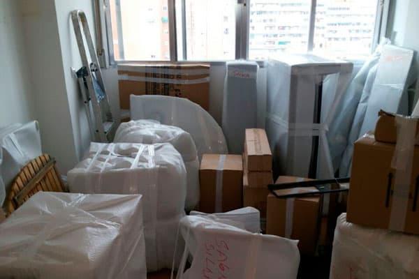 embalar objetos frágiles
