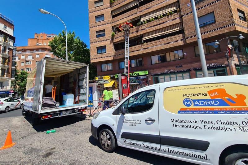 mudanzas especiales en Madrid